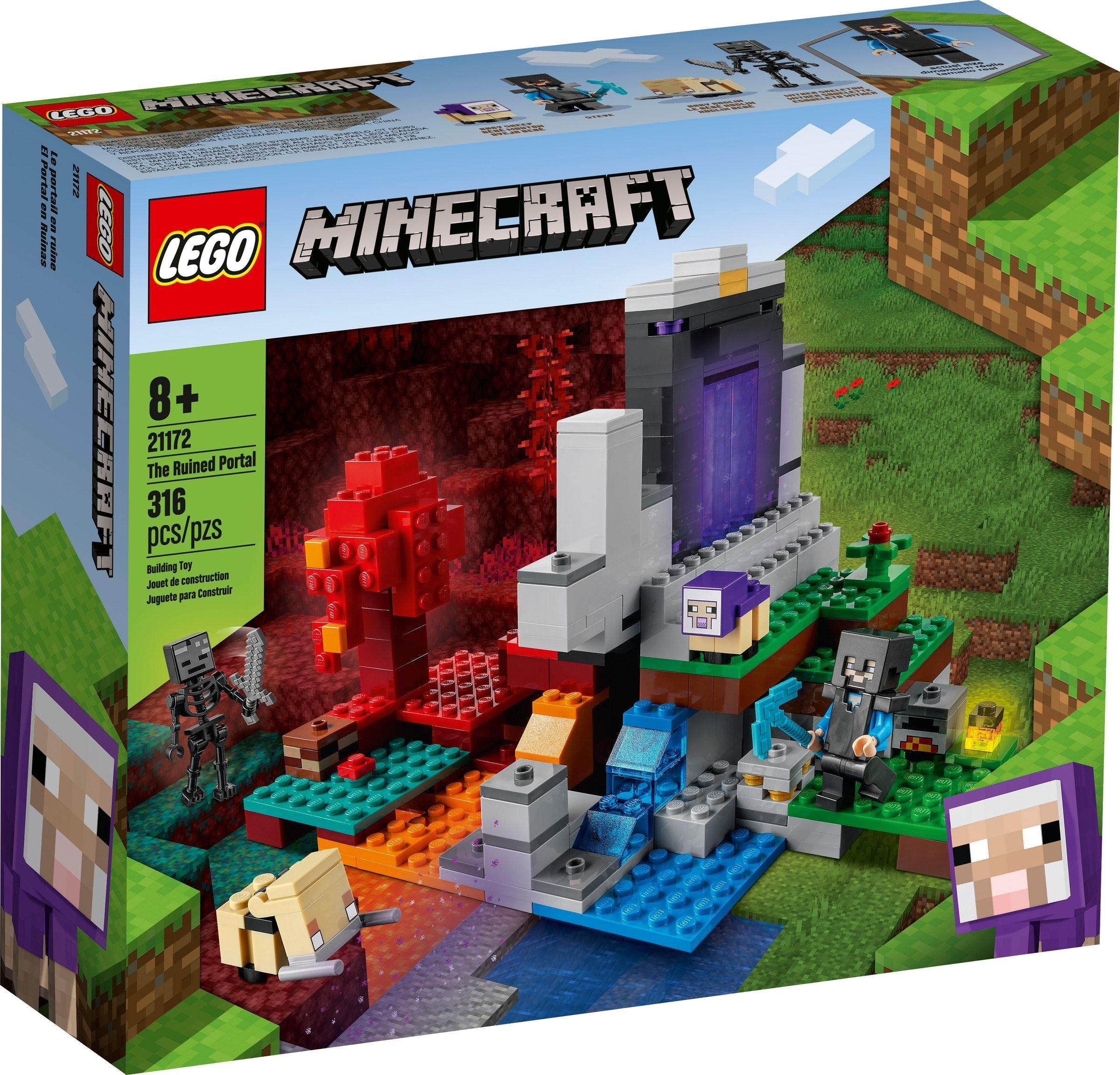 21172 LEGO Minecraft The Ruined Portal - Cổng thông tin bị tàn phá