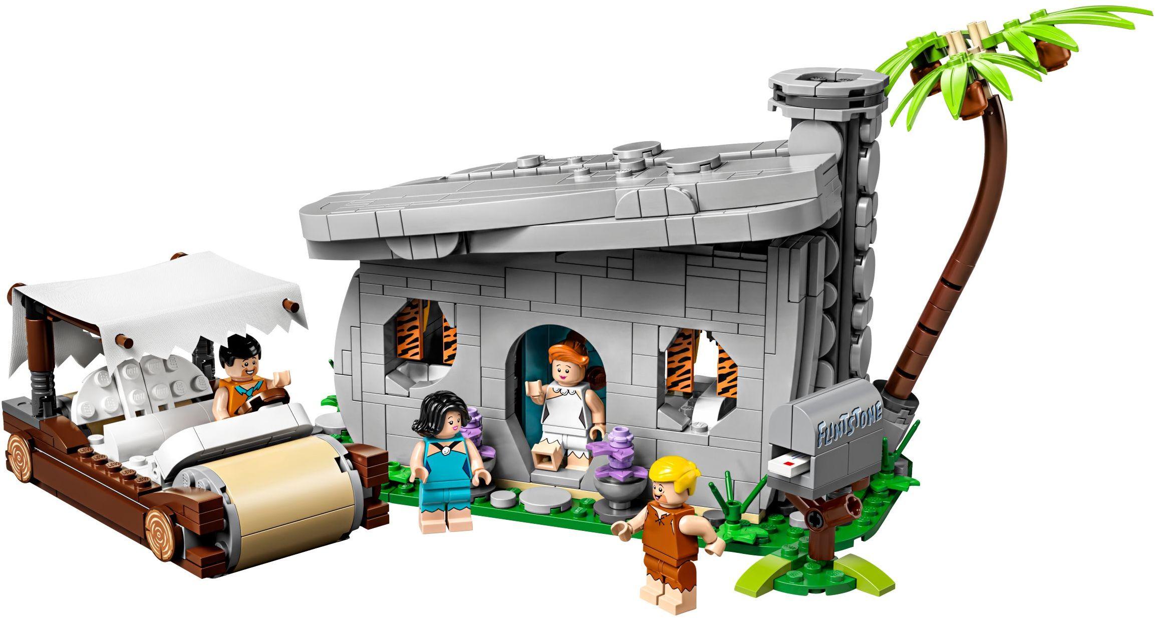 21316 LEGO Ideas The Flintstones - Gia đình Flintstone
