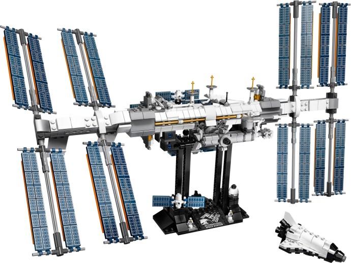 21321 LEGO Ideas Nasa International Space Station - Trạm vũ trụ quốc tế