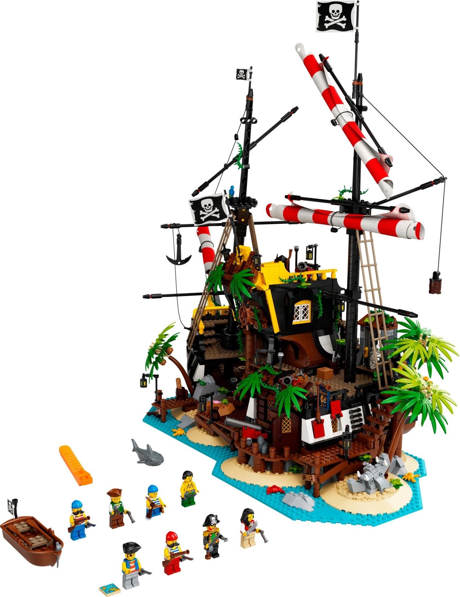 21322 LEGO Ideas Pirates of Barracuda Bay - Bộ đồ chơi LEGO Đảo Hải tặc