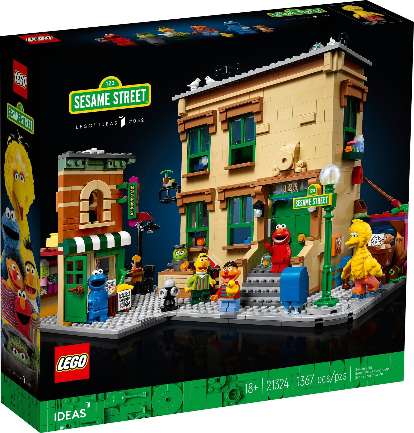21324 LEGO Ideas 123 Sesame Street