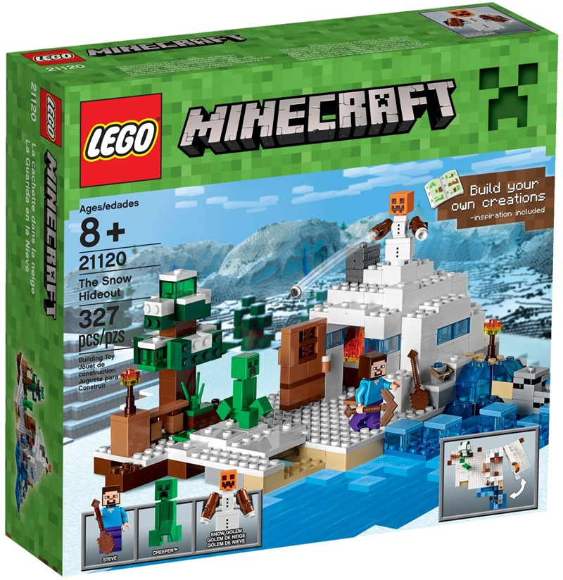 21120 LEGO® Minecraft the Snow Hideout (New)