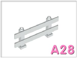 Hàng rào 1x8x2