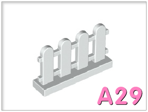 Hàng rào 1x4x2