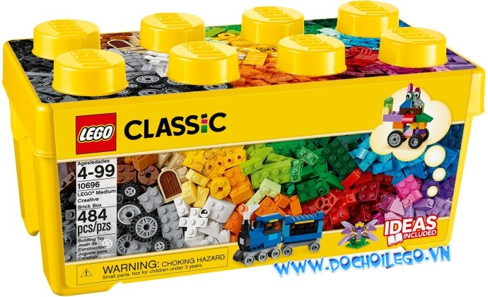 10696 LEGO® CLASSIC Medium Creative Brick Box (NEW)