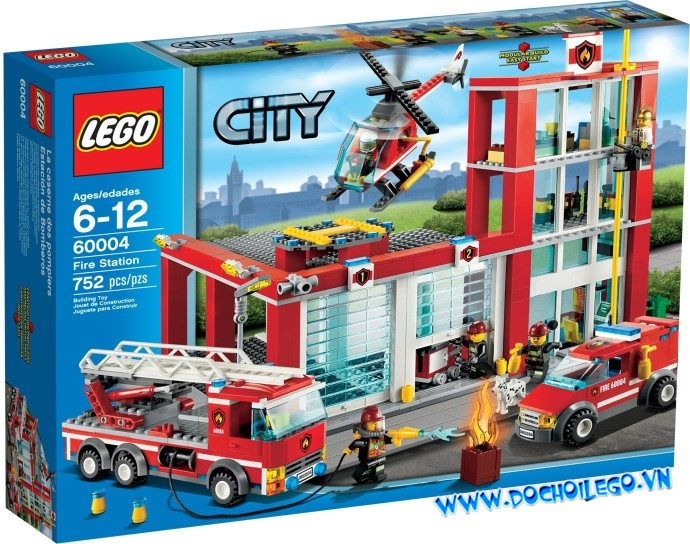 60004 LEGO® City Fire Station