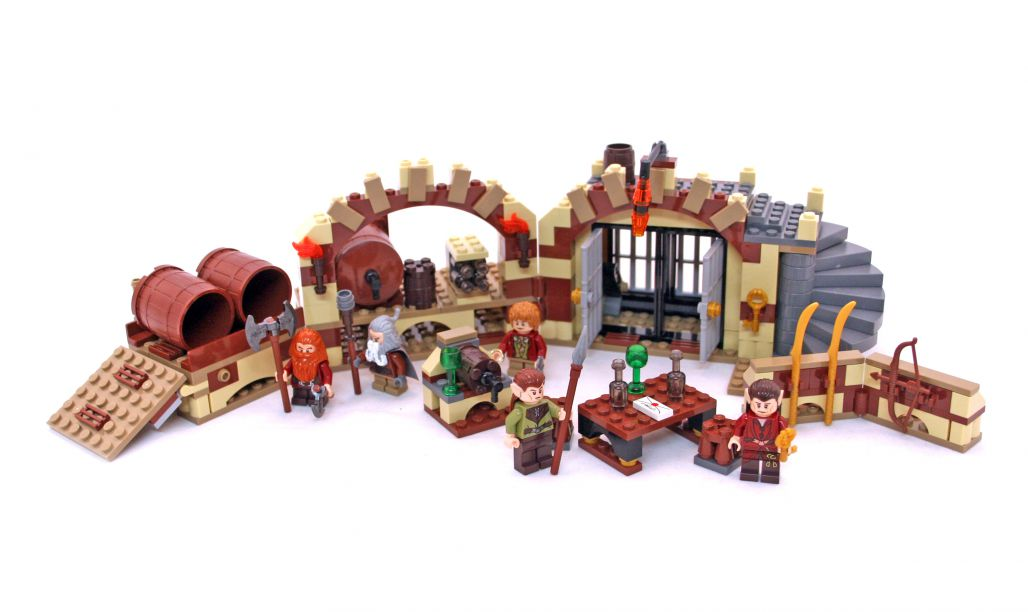 79004 LEGO® The Hobbit Barrel Escape