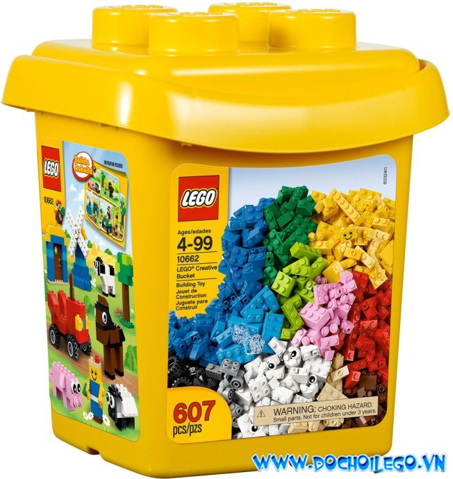 10662 LEGO® Creative Bucket