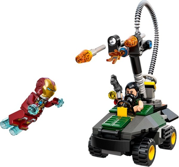 76008 LEGO® Iron Man vs. The Mandarin Ultimate Showdown