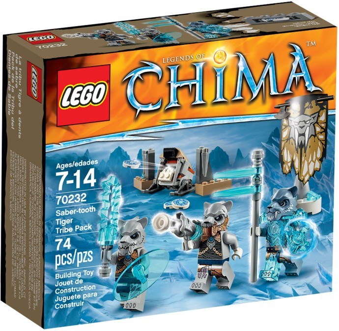 70232 LEGO® CITY Sabre Tooth Tiger Pack (năm 2015)
