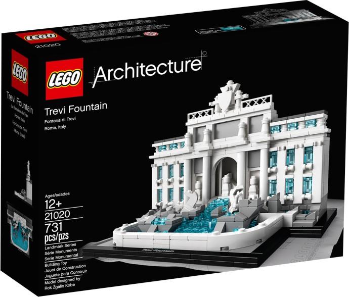 21020 LEGO®  ARCHITECTURE Trevi Fountain