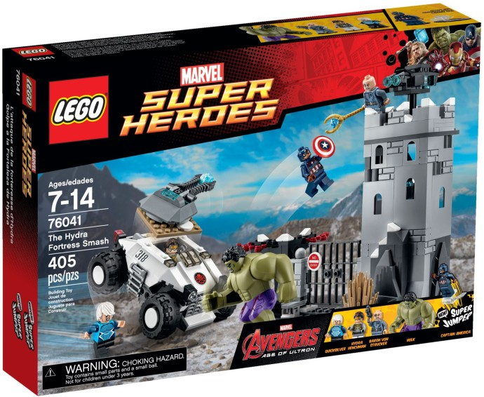 76041 LEGO® The Hydra Fortress Smash