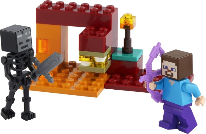 30331 LEGO Minecraft The Nether Duel polybag