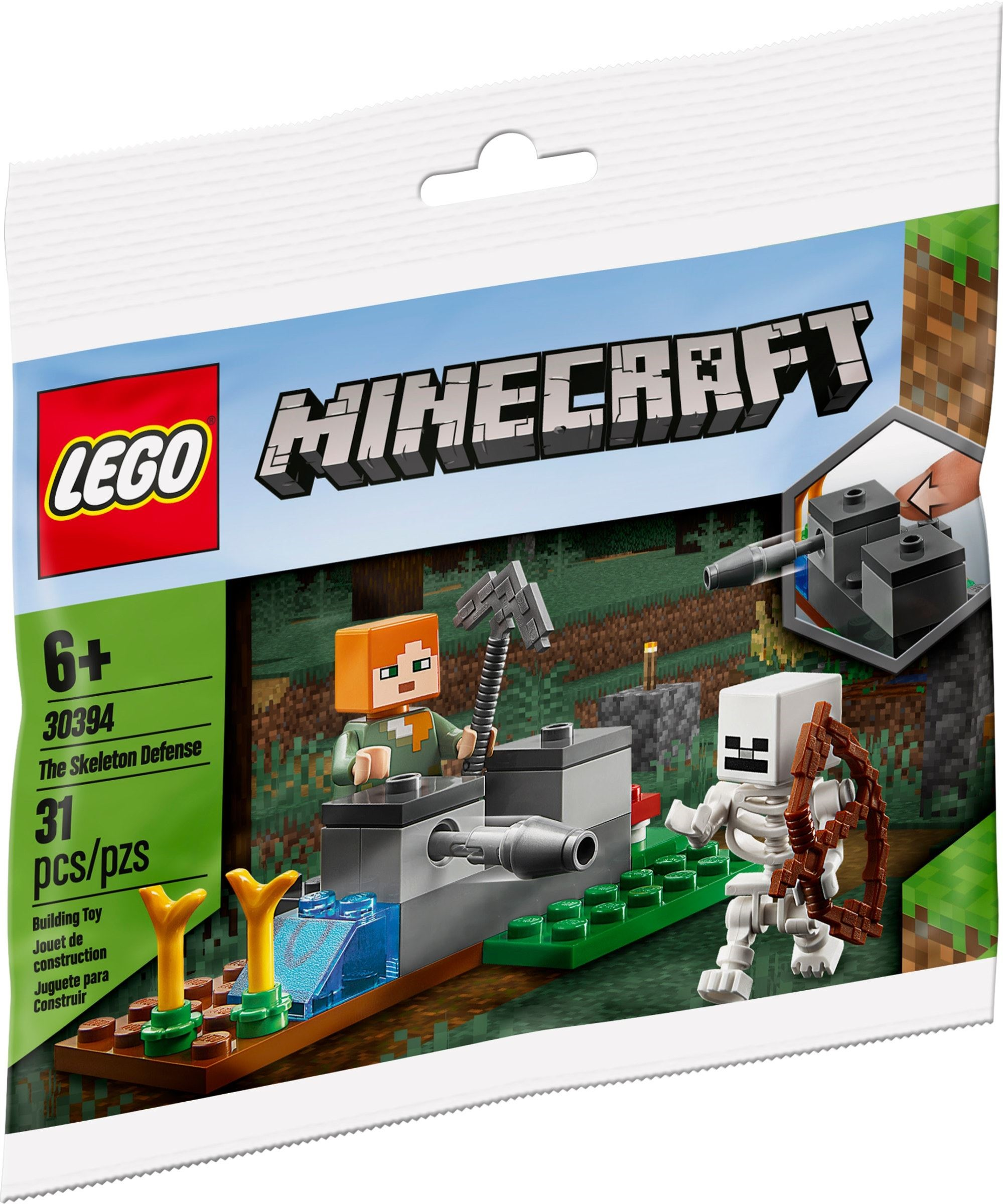 30394 LEGO Minecraft The Skeleton Defense
