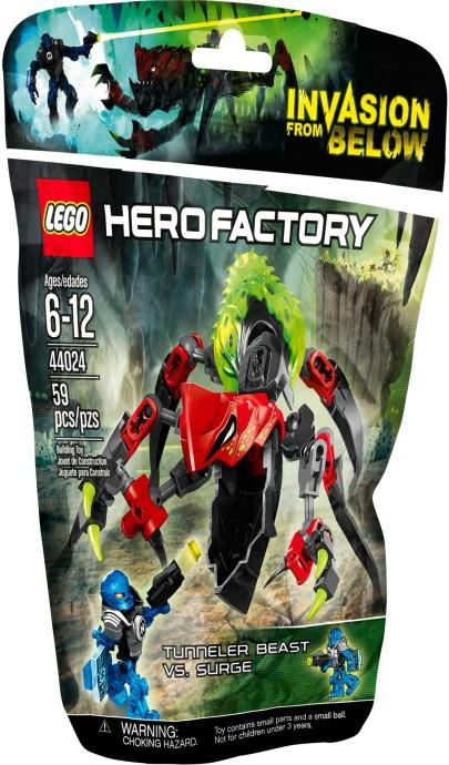 44024 LEGO® TUNNELER Beast vs. SURGE
