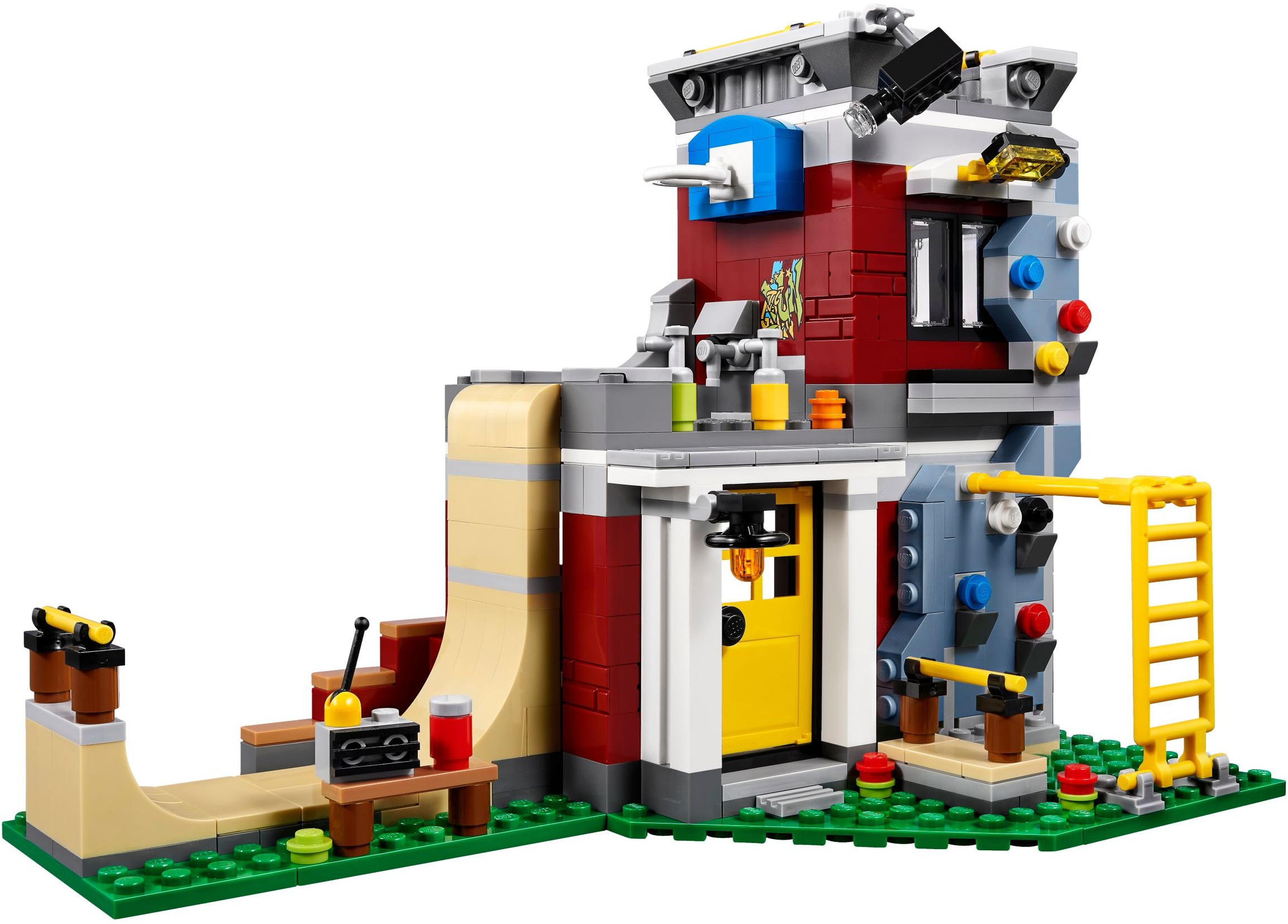 31081 LEGO Creator 3in1 Modular Skate House