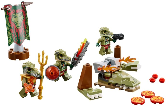 70231 LEGO®  Crocodile Tribe Pack (năm 2015)
