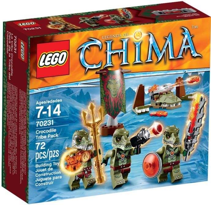 70231 LEGO®  Crocodile Tribe Pack (năm 2015)