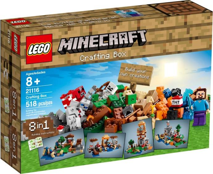 21116 LEGO® Minecraft  Crafting Box