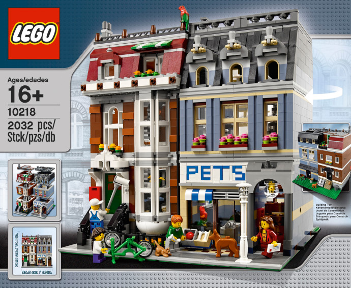 10218 LEGO® Pet Shop