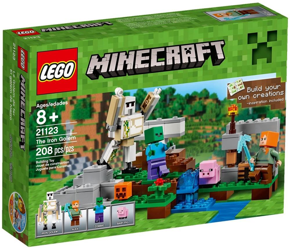 21123 LEGO® Minecraft The Iron Golem