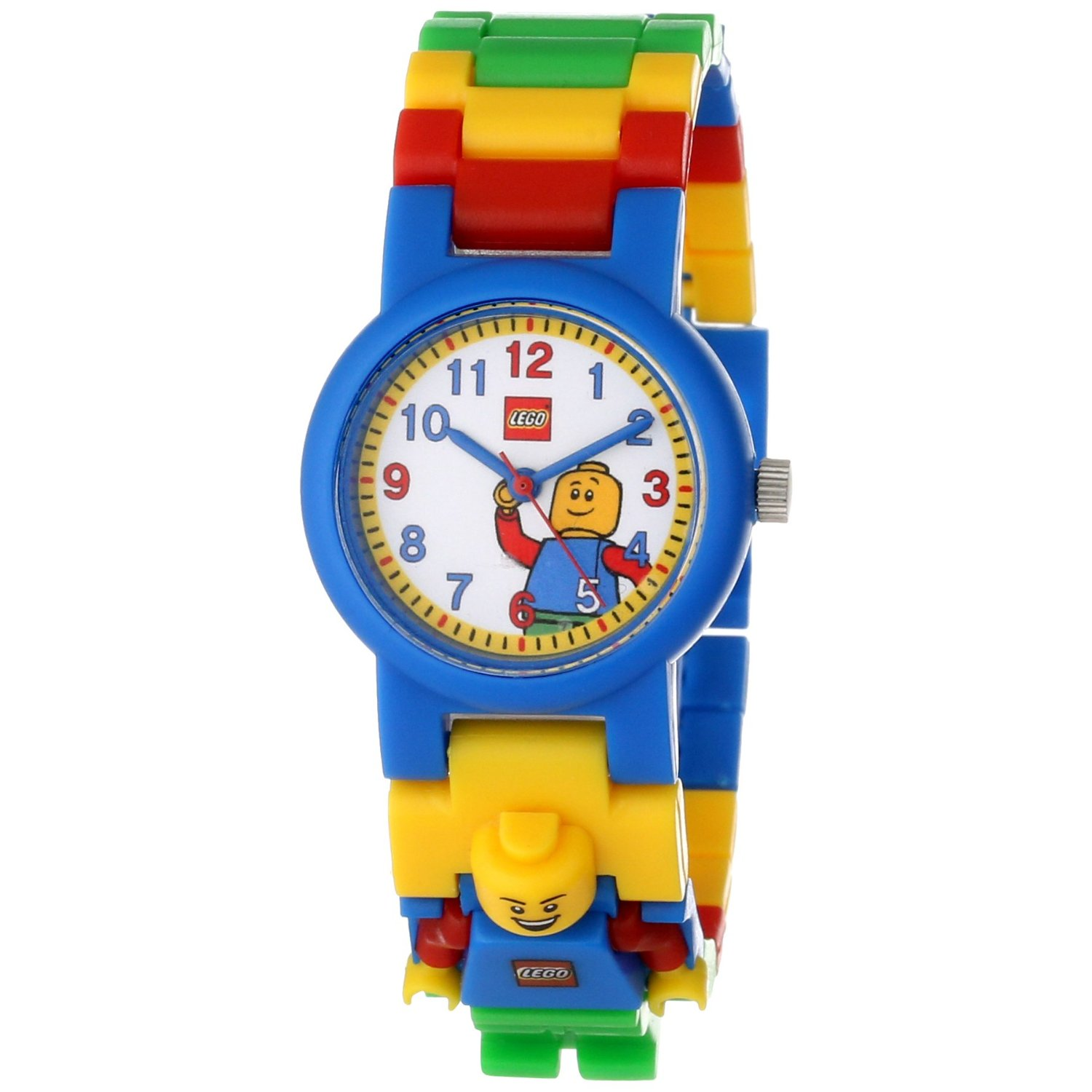 9005732 LEGO® Kids Classic Minifigure Link White Dial Watch