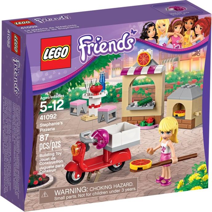 41092 LEGO® FRIENDS Stephanie's Pizzeria (năm 2015)