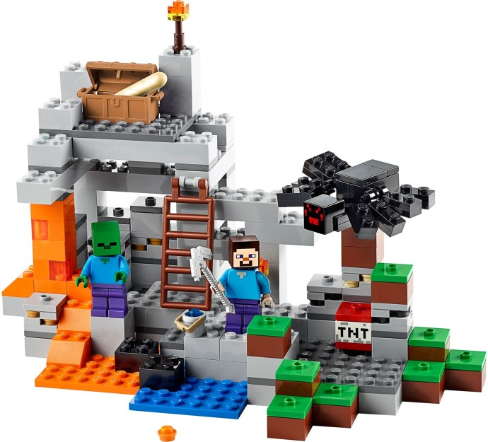 21113 LEGO® Minecraft The Cave