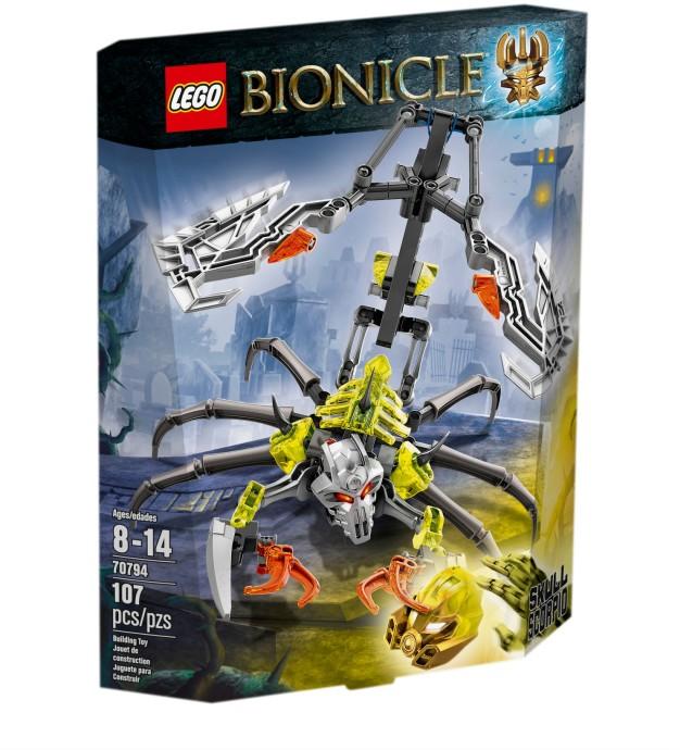 70794 LEGO® BIONICLE Skull Scorpio (năm 2015)