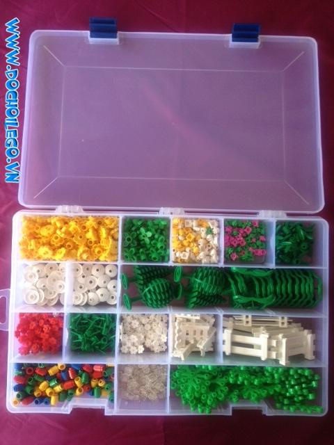 Hộp chia ngăn/ hộp bobbin (loại 24 ngăn)