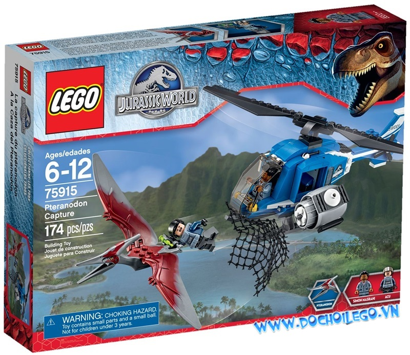 75915 LEGO®  Pteranodon Capture (năm 2015)