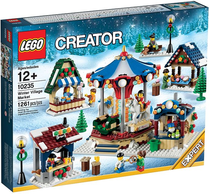 10235 LEGO® Winter Village Market