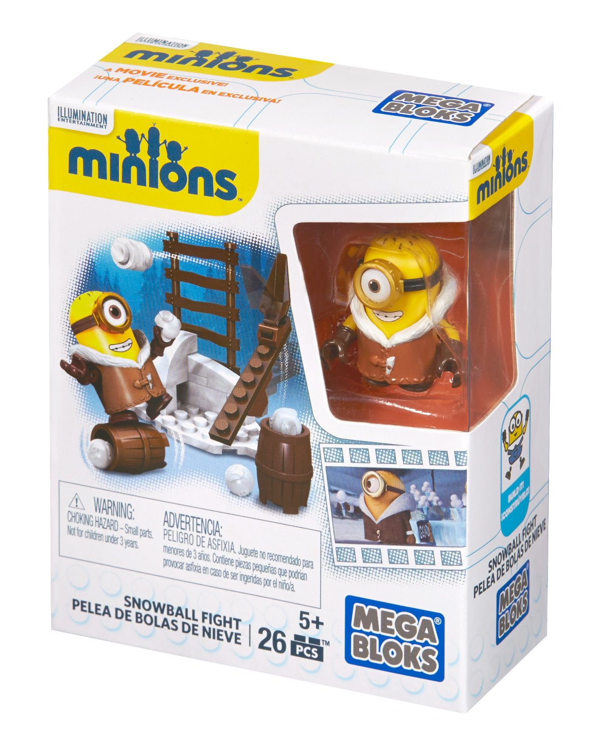 MEGA BLOKS Minions™ Snowball Fight