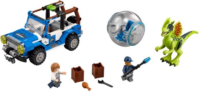 75916 LEGO® Dilophosaurus Ambush (năm 2015)