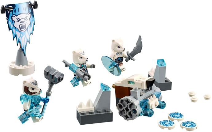 70230 LEGO®  Ice Bear Tribe Pack (năm 2015)