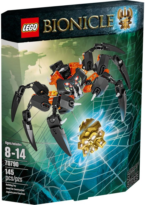 70790 LEGO® BIONICLE Lord of Skull Spiders (NEW)