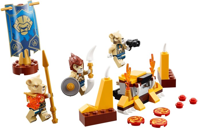 70229 LEGO® Lion Tribe Pack (năm 2015)