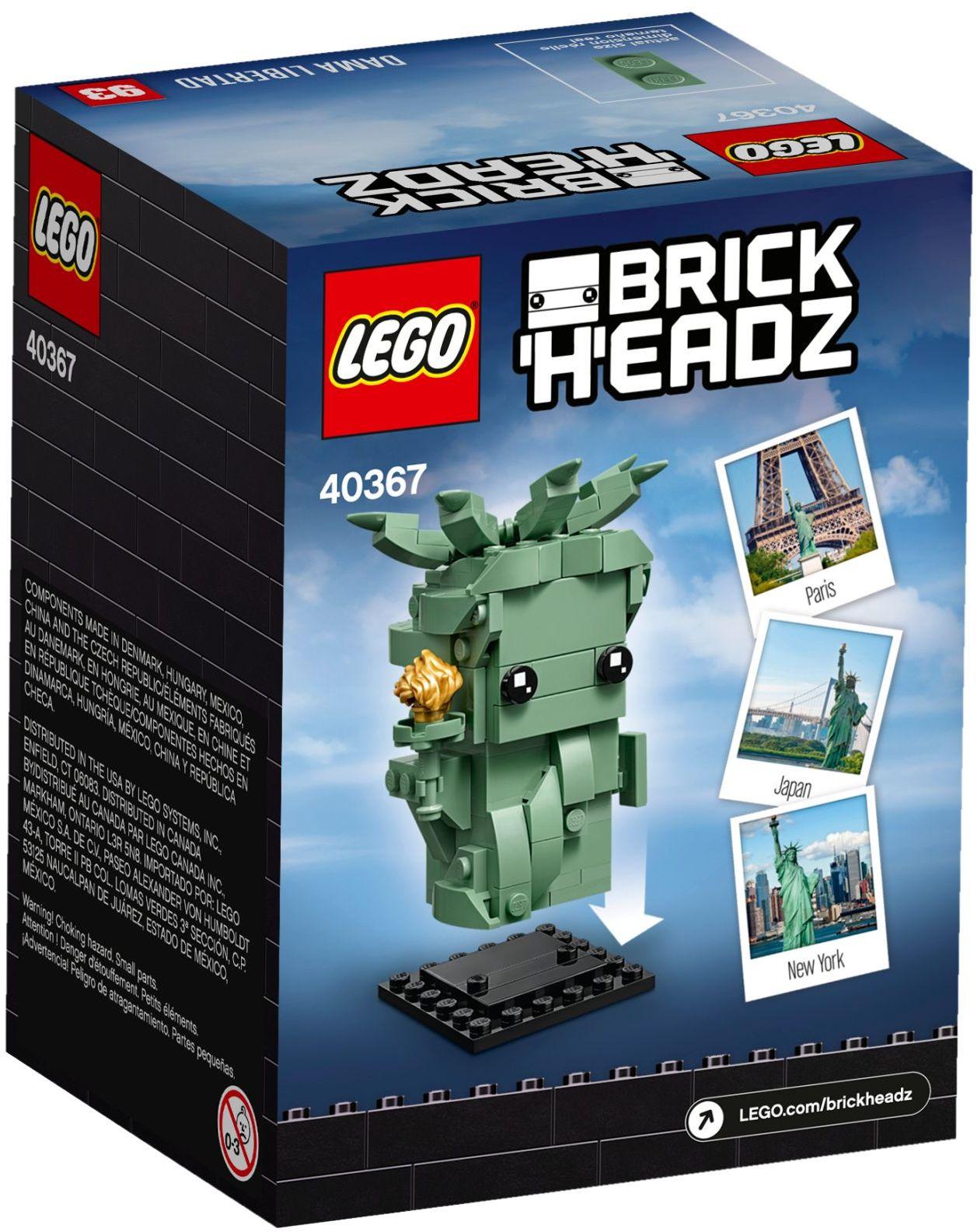 40367 LEGO Brickheadz Lady Liberty - Tượng nữ thần tự do
