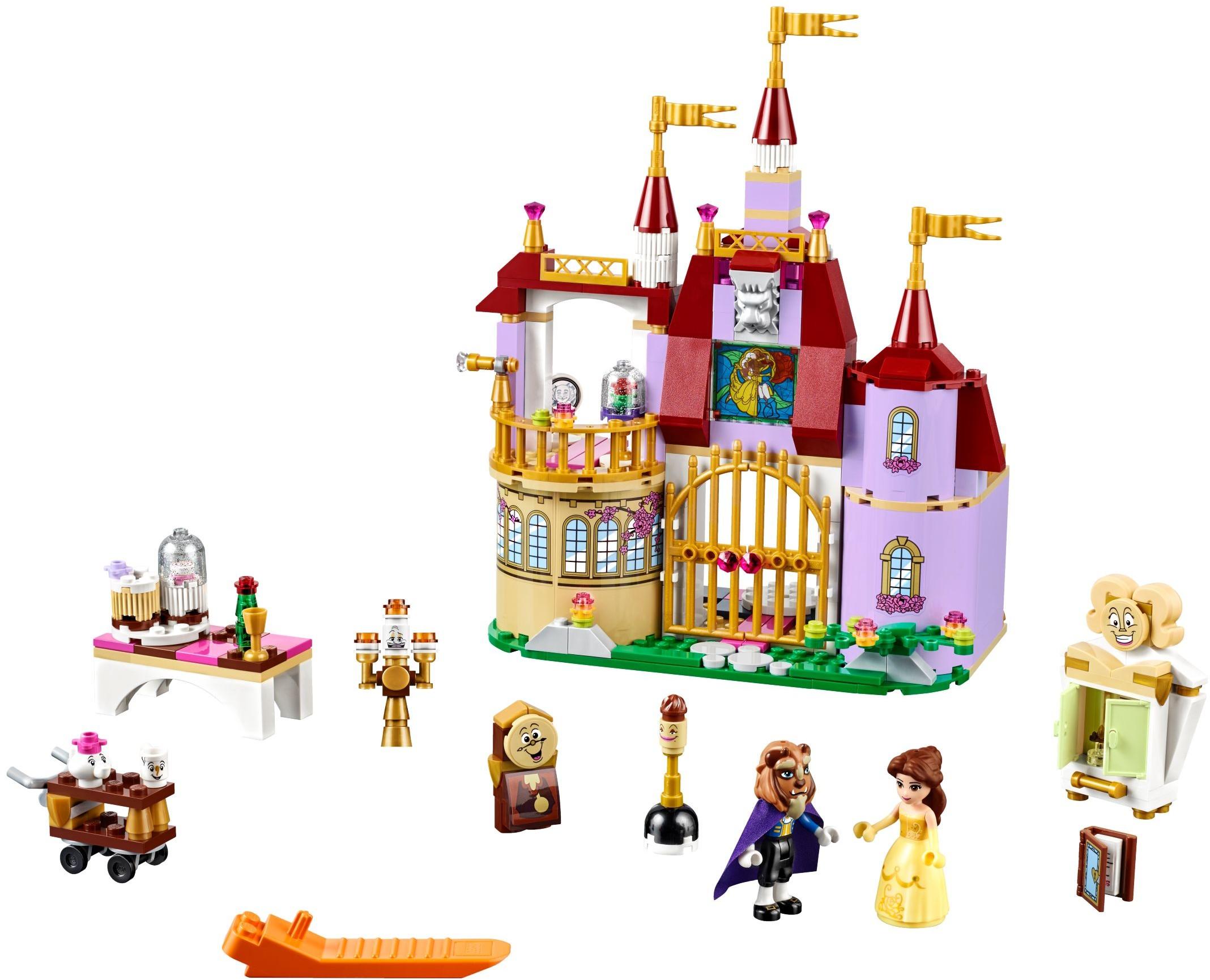 Disney Princess Chi Lego 41060 Sleeping Beautyamp039s Royal Bedroom 41067 Belles Enchanted Castle