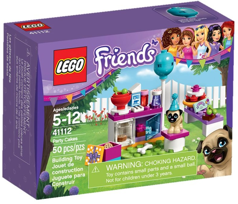 41112 LEGO® Friends Party Cakes