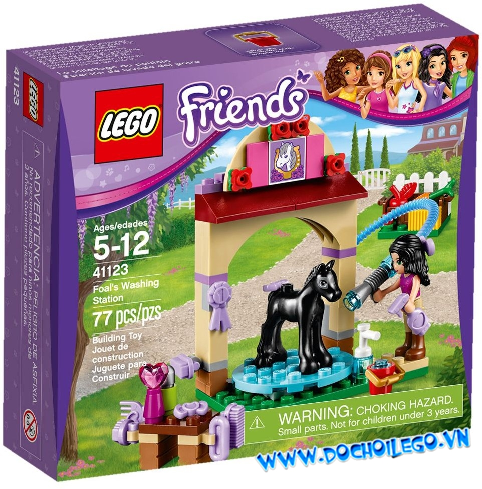 41123 LEGO Friends Foal's Washing Station