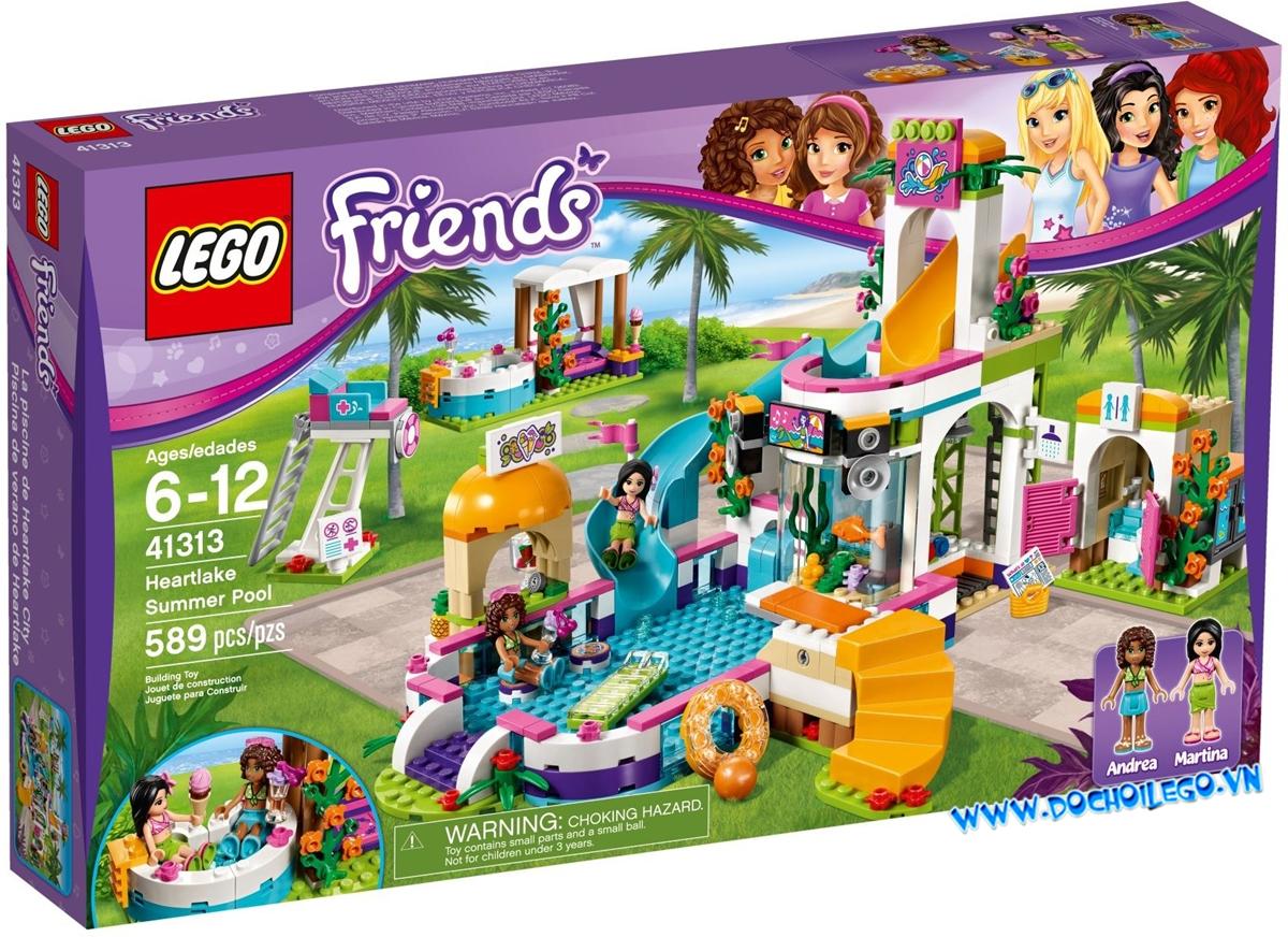 41313  LEGO Friends Heartlake Summer Pool - Hồ bơi thành phố Heartlake