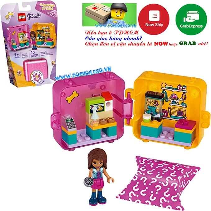 41405 LEGO Friends Andrea's Play Cube Pet Shop _  Cửa hàng thú cưng của Andrea