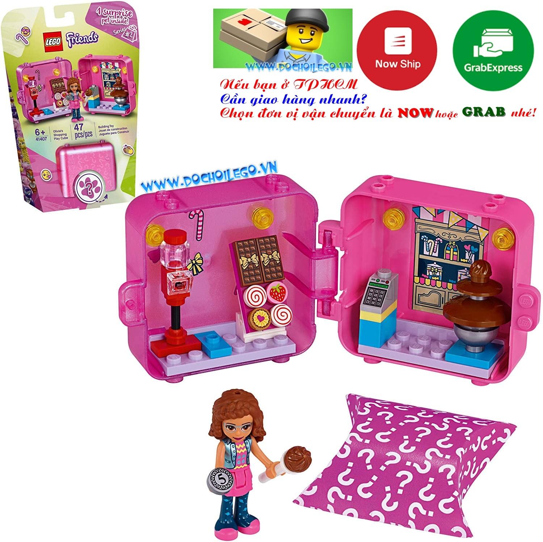 41407 LEGO Friends Olivia's Play Cube - Sweet Shop - Cửa hàng bánh kẹo
