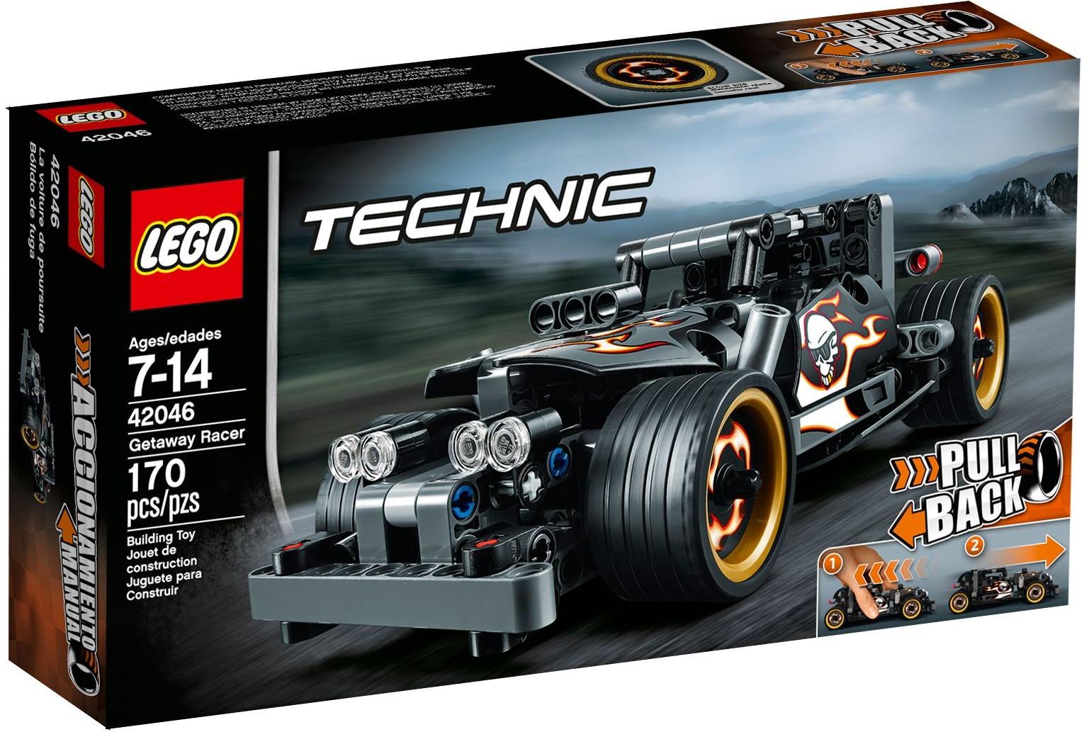 42046 LEGO Technic Getaway Racer - Xe đua  Getaway Racer