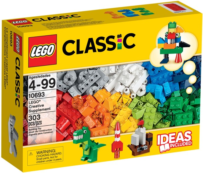 10693 LEGO® CLASSIC Creative Supplement (năm 2015)