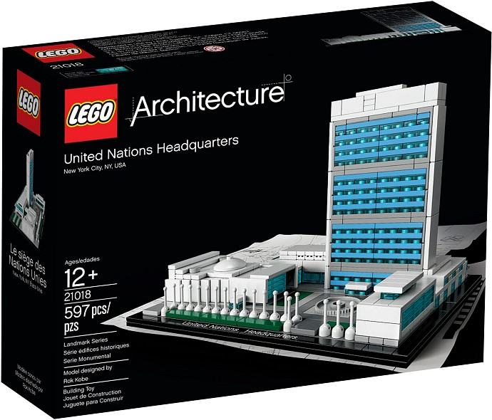 21018 LEGO® Architecture UNITED NATIONS HEADQUARTERS