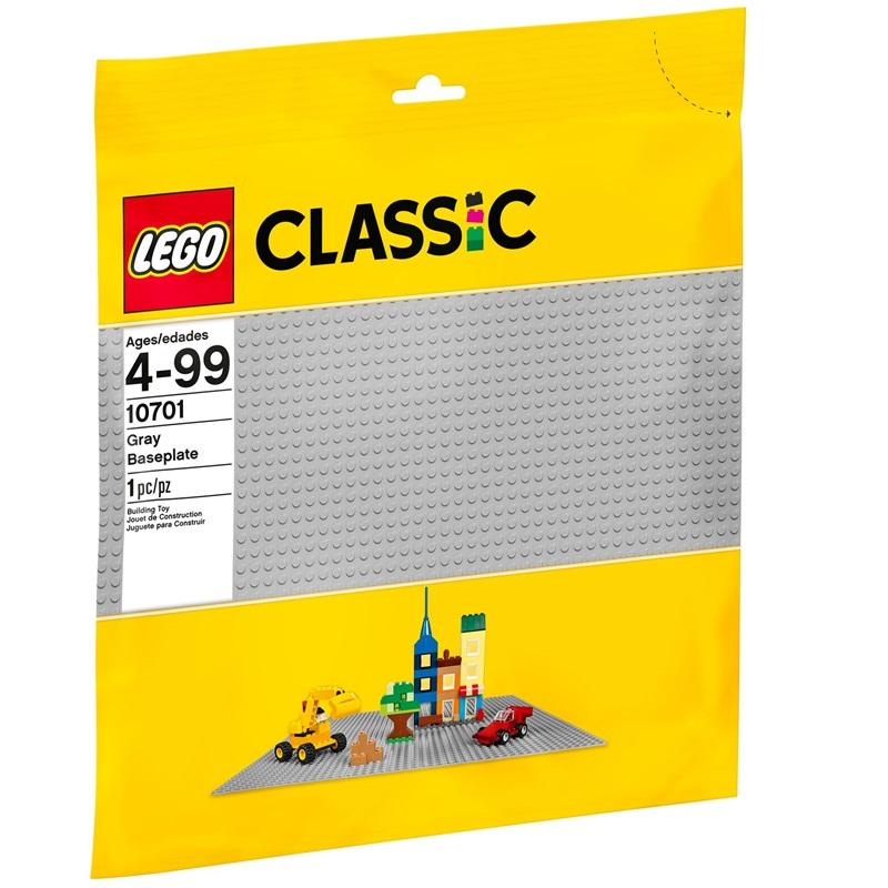 10701 LEGO® Grey Baseplate - tấm nền 48 x 48 nút