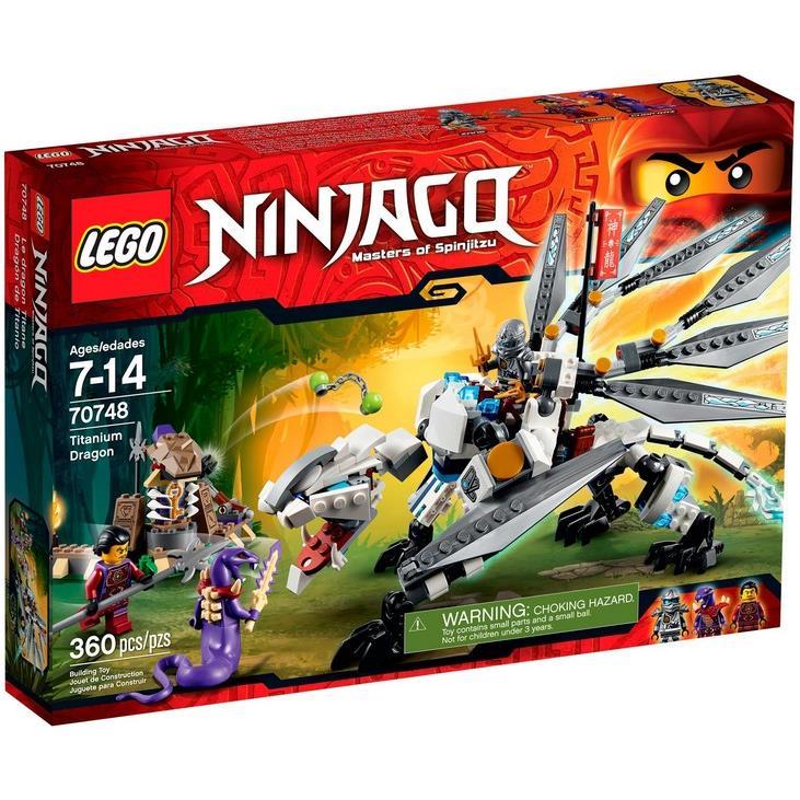 70748 LEGO® Titanium Dragon - Rồng Titan