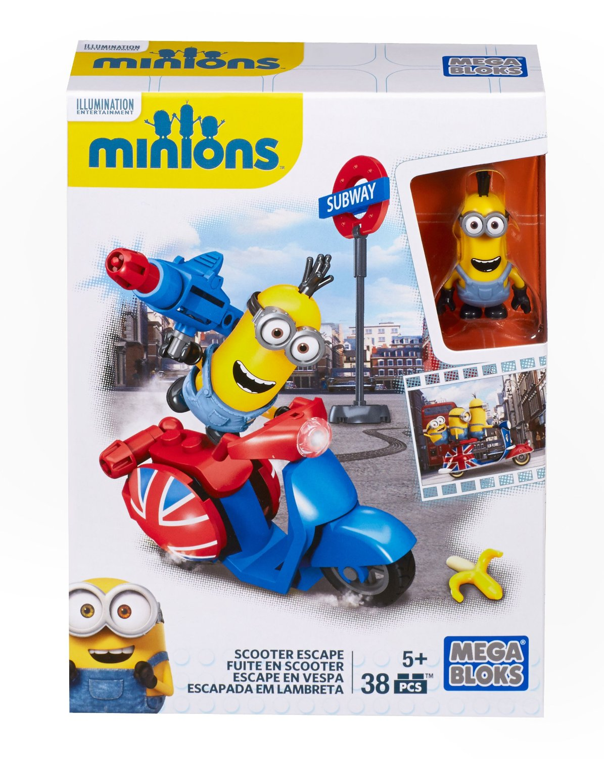 MEGA BLOKS Minions™ Scooter Escape